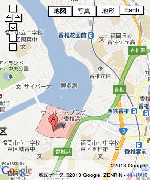 さわやかスポーツ広場の地図